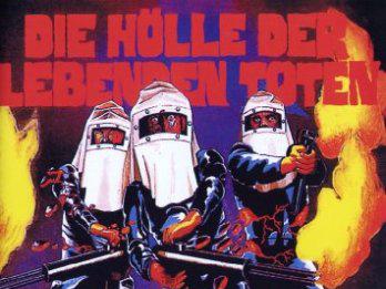 Die Hölle der lebenden Toten - Titel