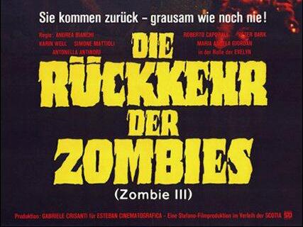 Die Rückkehr der Zombies - Titel