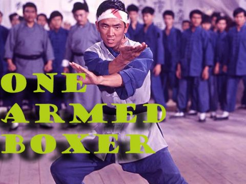 Jimmy Wang Yu als der ONE ARMED BOXER
